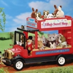 [SOLD OUT] รถประจำทางซิลวาเนียน (UK) Sylvanian Families Country Red Bus