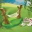 ซิลวาเนียน เปลญวน (UK) Sylvanian Families Garden Hammock thumbnail 1