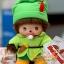 ตุ๊กตาเบบี้จิจิชุดปีเตอร์แพน 5.5 นิ้ว (Peterpan Bebichhichi Boy) thumbnail 1