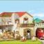 บ้านซิลวาเนียนพร้อมลานจอดรถ (JP) Sylvanian Families New House 2012 (Lighting House with Carport) thumbnail 5