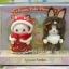 เบบี้กระต่ายชอคโกล่ากับเบบี้หมาโดตี้ในชุดหนูน้อยหมวกแดง (JP) Sylvanian Families Little Red Riding Hood thumbnail 1