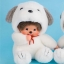 ตุ๊กตาลิงมอนจิจิ-ยูเมะคิจิคุง 18 ซม.(Umekichi Monchhichi Kun) thumbnail 1