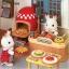 [SOLD OUT] ซิลวาเนียน..ร้านพิซซ่า 2008 (JP) Sylvanian Families Pizza & Spaghetti Set V5% thumbnail 4