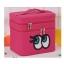 กระเป๋าเครื่องสำอาง big eyes double box สีบานเย็น thumbnail 1