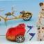 ซิลวาเนียนแมวสีครีมกับจักรยานมีรถพ่วง (UK) Sylvanian Families Tandem Bike & Baby Trailer thumbnail 2