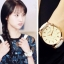นาฬิกาข้อมือเกาหลี เวยเวยเธอยิ้มโลกละลาย มี2สี