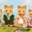 ซิลวาเนียน ครอบครัวแมวจิงเจอร์ 4 ตัว (UK) Sylvanian Families Ginger Cat Family thumbnail 1