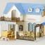 [หมดค่ะ] บ้านตุ๊กตาซิลวาเนียน2008 (Sylvanian Families Fancy Restaurant House with furniture) V5% thumbnail 1