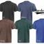 เสื้อยืดสีฟ้าคราม เนื้อซุปเปอร์ดาย SuperDry Sky Blue Round Neck Tshirt thumbnail 6