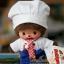 ตุ๊กตาเบบี้จิจิในชุดพ่อครัว 5.5นิ้ว(Chef Bebichhichi Boy) thumbnail 1