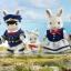 ครอบครัวซิลวาเนียน กระต่ายโคลัมบัส 5 ตัว (UK) Sylvanian Families Columbus Rabbit Family thumbnail 1