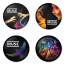 Muse button badge 1.75 inch custom backside 4 type Pinback, Magnet, Mirror or Keychain. Get 4 in package [12]