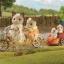 ซิลวาเนียนแมวสีครีมกับจักรยานมีรถพ่วง (UK) Sylvanian Families Tandem Bike & Baby Trailer thumbnail 1