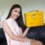 กระเป๋ารุ่นโบว์ สีเหลือง thumbnail 5