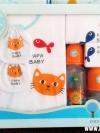 ชุดของขวัญ PAPA BABY สำหรับเด็กแรกเกิด 7 รายการ