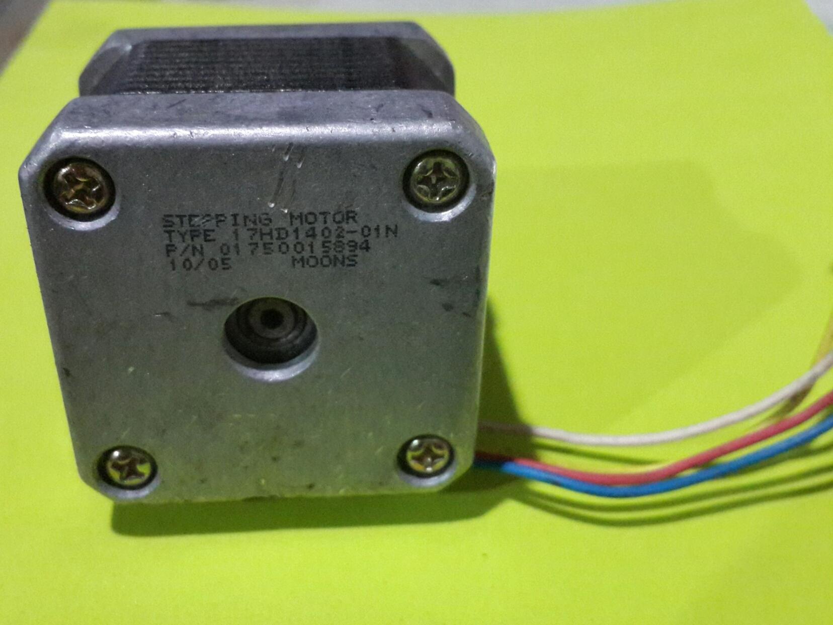 Nema 17 Stepping Motor Model 17hd1402 01n Moons Rubber Dampers For 3dprinter Goldgear