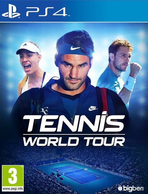 PS4- Tennis World Tour