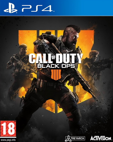 PS4- Call of Duty: Black Ops 4