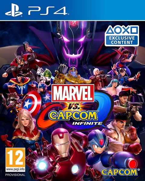 PS4- Marvel vs. Capcom: Infinite
