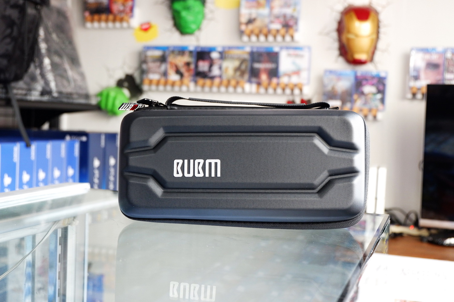 Switch Hard Case Bubm Black