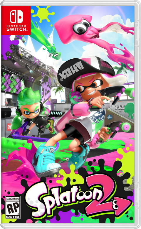 Switch- Splatoon 2