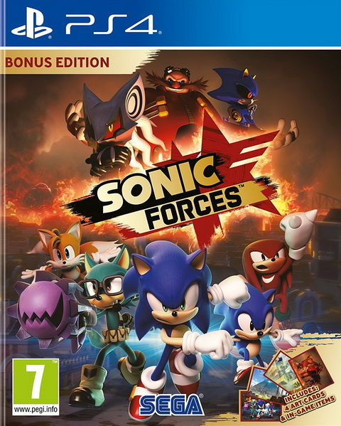 PS4- Sonic Forces Bonus Edition