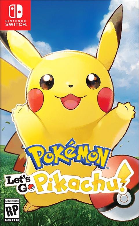 Switch- Pokemon Let's GO! Pikachu