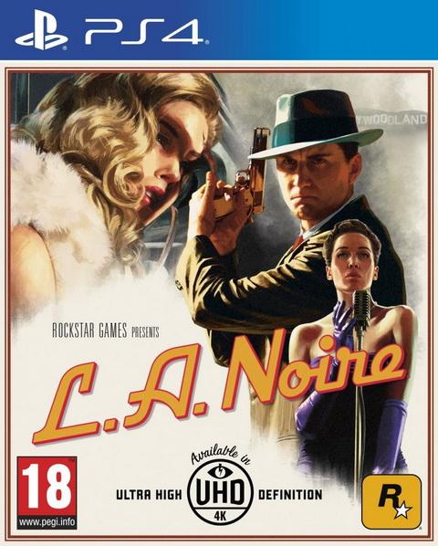 PS4- L.A. Noire