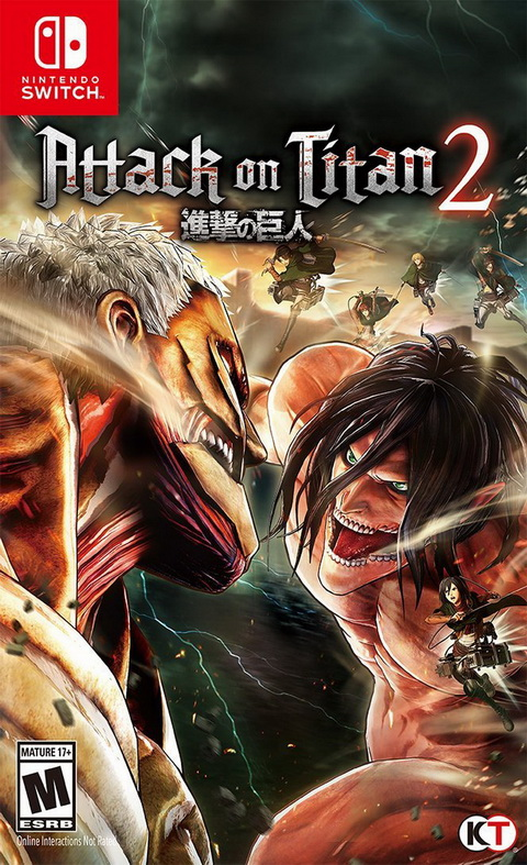 Switch- Attack on Titan 2
