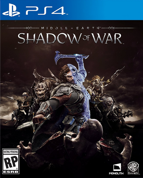 PS4- Middle-Earth: Shadow of War