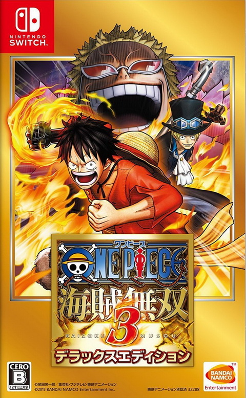 Switch- One Piece: Pirate Warriors 3 - Deluxe Edition