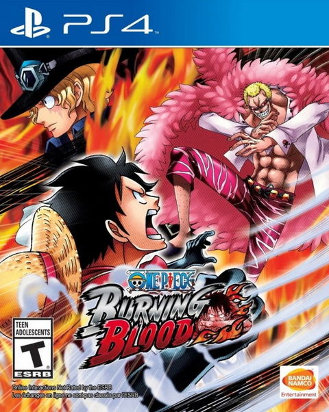 PS4- One Piece Burning Blood