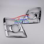 ครอบไฟหน้า อีซูซุ ดีแม็ก ISUZU D-MAX ปี 2007-2011 Gold Series Platinum Super Titanium ชุบโครเมียม