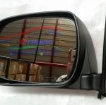 กระจกมองข้าง โตโยต้า วีโก้ TOYOTA VIGO ตอนเดียว ทุกปี 2004-2014 เป็นพลาสติกสีดำด้าน ปรับธรรมดา ของเทียม มีทั้งข้างซ้าย และ ข้างขวา